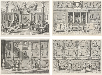Ten plates depicting the Art o