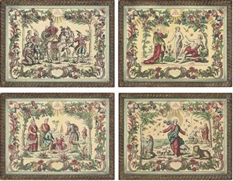 Eight Decorative Scenes taken