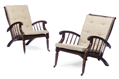 A PAIR OF LATE VICTORIAN OAK R