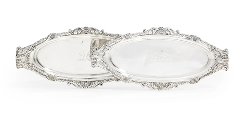 A PAIR OF GEORGE III SILVER SN