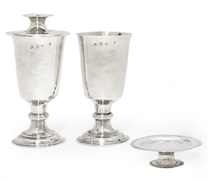 A PAIR OF CHARLES II SILVER CO