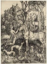 Saint Eustace (B. 57; M., Holl