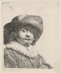 A Man in a broad-brimmed Hat (