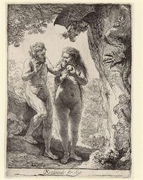 Adam and Eve (B., Holl. 28; H.