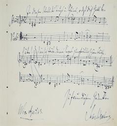 BRAHMS, Johannes (1833-1897).