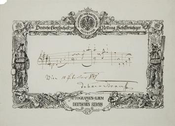 STRAUSS, Johann Sebastian, dit