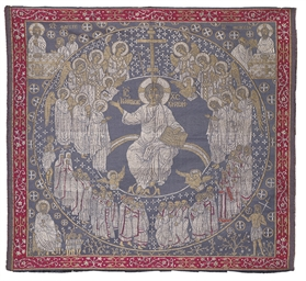 AN ECCLESIASTICAL TEXTILE USED