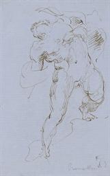 Prométhée; et Une femme nue, f
