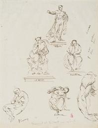 Études pour cinq sculptures: B