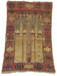 A KARAPINAR PRAYER RUG