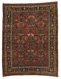 A BIDJAR CARPET