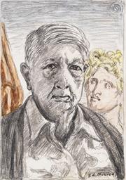 Autoritratto con Minerva