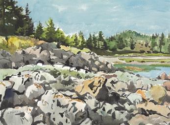 Rocks on Sheep Cove No. 2