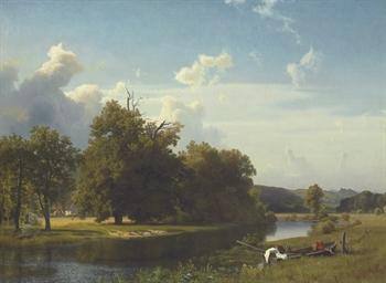 A River Landscape, Westphalia