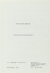 Various Film Scripts - 1968/19