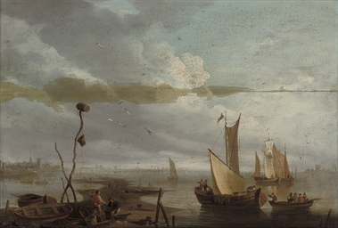 Evening on the Scheldt