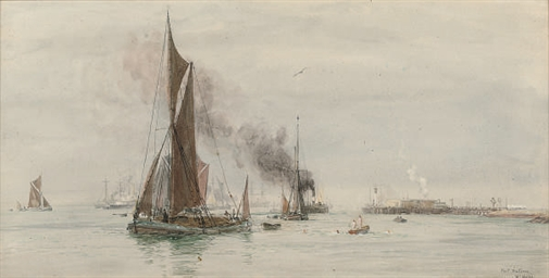 Bathers at Port Victoria