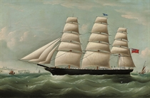 The Henry Reed passing Dover (illustrated); and A French trader in the Channel