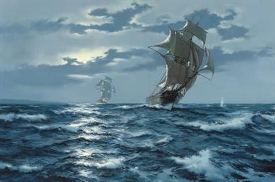 Chasing the smuggler