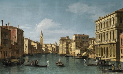 The Grand Canal, Venice, looki