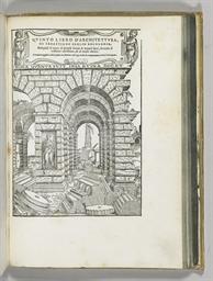 SERLIO, Sebastiano. Libro Prim