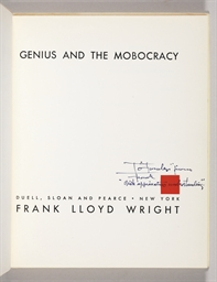 [WRIGHT, Frank Lloyd]. HITCHCO