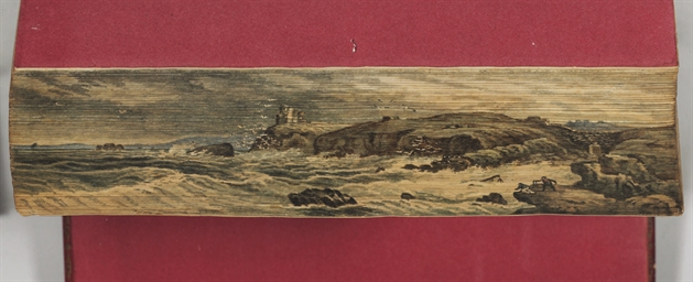 [FORE-EDGE PAINTING]. SCOTT, W