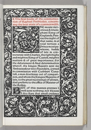 [KELMSCOTT PRESS]. MORE, Thoma