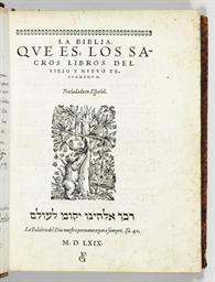 [BIBLE -- Spanish]. La Biblia,