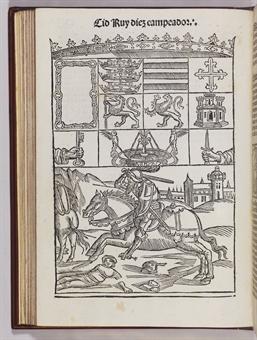CID. Roderigo Diaz de Bivár (ca 1040 - 1099). Crónica del famoso cavallero Cid Ruy Diez Campeador. Burgos: Fadrique Aleman de Basilea, 31st March 1512.