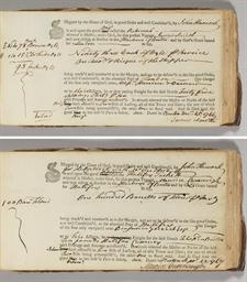HANCOCK, John (1737-1793), Sig