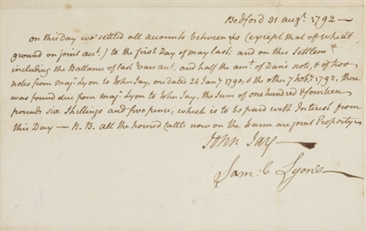 JAY, John (1745-1829), First C