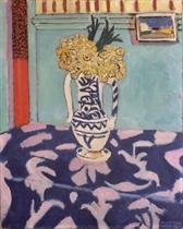Les coucous, tapis bleu et rose