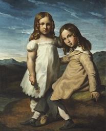 Portrait d'Alfred et Elisabeth