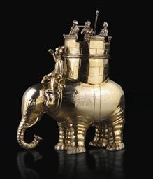 ELEPHANT EN VERMEIL