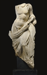 A ROMAN MARBLE BACCHUS