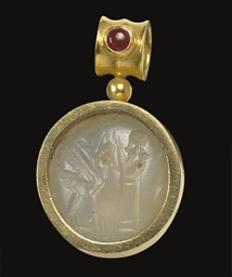 A NEO-BABYLONIAN CHALCEDONY ST