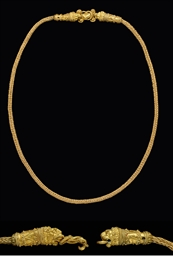 A GREEK GOLD CLASP