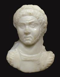 A ROMAN SARDONYX CAMEO PORTRAI
