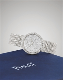 PIAGET  WHITE GOLD AUTOMATIC B