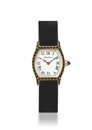 CARTIER  GOLD AND ENAMEL MANUA