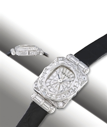 GRAFF  WHITE GOLD QUARTZ LADY'