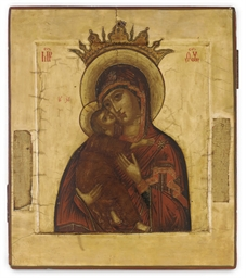 THE CROWNED MOTHER OF GOD OF V