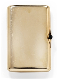 A RUSSIAN GOLD CIGARETTE CASE