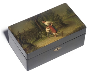 A PAPIER MACHÉ BOX