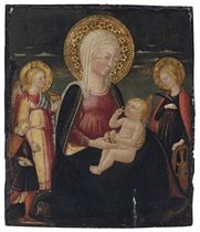 The Madonna dell'Umiltà with Saint Catherine of Alexandria and Tobias and the Angel