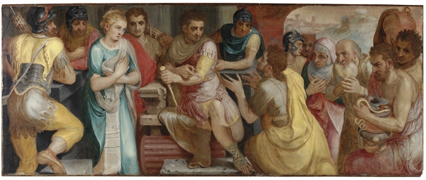 The Continence of Scipio