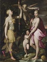 The Apotheosis of Venus and Diana
