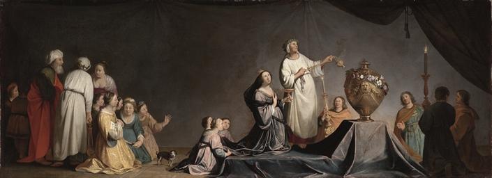 Artemisia in mourning