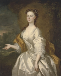 Portrait of Miss Rachel Long,